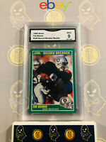 1989 Score Tim Brown #328 Record Breaker Rookie - 9 MINT GMA Graded Card