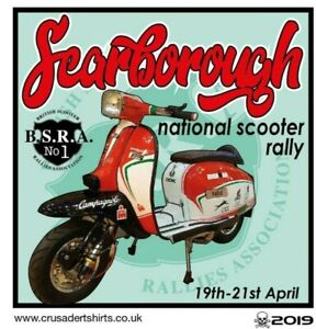 2019 SCARBOROUGH SCOOTER RALLY RUN BSRA PATCH MODS SKINHEADS not PADDY SMITH