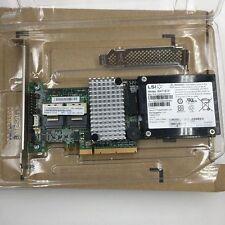 IBM M5015 LSI 9260-8i 46M0851 81Y4419 SAS RAID Controller PCI-E +Battery