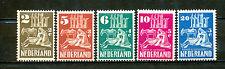 Nederland  556 - 560 ongebruikt (4)