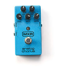 Used MXR M234 Analog Chorus Guitar Effects Pedal