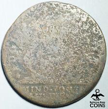 1787 United States One Cent Fugio Copper Coin