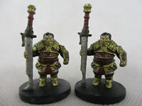 D&D Lot of 2 CRAG UNGART #7 Storm King's Thunder Miniature Figures by WotC!!