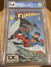 Superboy #9 CGC 9.8 DC UNIVERSE logo 1st King Shark Variant - Suicide Squad