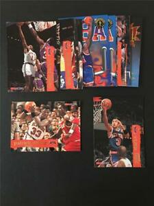 1995/96 NBA Hoops New York Knicks Team Set 16 Cards