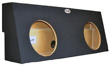 Toyota Tundra CrewMax Double 12'' Subwoofer Enclosure Sub Box 2007-2013