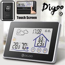 Digoo Wireless Stazione LCD Meteo metereologica Temperatura Umidità IN&Esterno