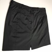 Nike Golf Tour Performance Women's Size 16 Dri-Fit Skirt Skort UnderShorts Black