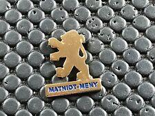 PINS PIN BADGE CAR PEUGEOT LOGO MATHIOT MENY