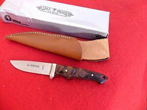 Boker Integral I Hunting Knife Fixed Blade Palisander 120529 burl wood knife NIB