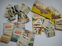Transportation Collectors Tea Cards and Albums Bundle  Aviation Ships Cars Space