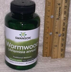 Wormwood, from Swanson.  90 capsules, 425 mg each