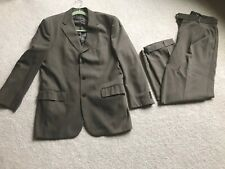 Green Suit Pants & Jacket - wool - Jos A Banks Size 40 /32 Waist