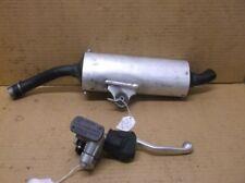 Used Factory Muffler & Front Brake Master Cylinder for a 2004 Honda CR125