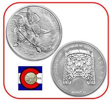 2017 South Korea ZI:SIN Gallus 1 oz 0.999 Silver Medal/Coin in plastic capsule