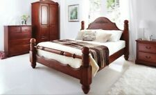 Kingsized Crowther Solid Wooden Charlotte Bed LOCAL DELIVERY Asembly Option