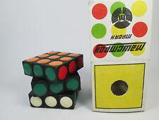 Vintage ussr little Magic cube Bulgarian Rubik's Cube MK-02 rare toy 1982.
