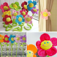 Flower Tie Back Clasps Curtain Clip Flexible Tieback Holdback Holder