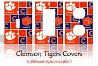 Clemson Tigers #2 Light Switch Covers Football NCAA Home Decor Outlet