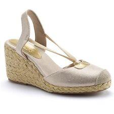 Brand New Chaps Clarisa Espadrille Wedge Sandals - Women Size 11 B (M) + Free Sh