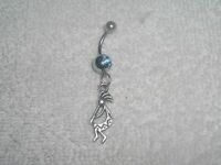 Kokopelli Charm Belly Button Navel Ring Body Jewelry Piercing