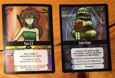 Dot Hack .Hack Enemy TCG Lot of 2 Promo Foil Cards (3P1, 3P3) M/NM