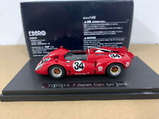 Ebbro Toyota 7 Japan Can Am 1968 Red 1/43 Scale Die-Cast Model Car