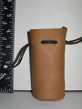 SFB-1 SMALL BEIGE FLAT BOTTOM BAG IDEAL FOR COINS, GEMS OR WHATEVER FREE SHIPPIN
