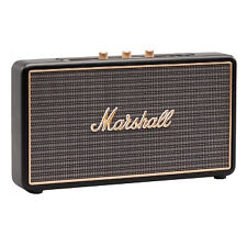 Marshall Stockwell Portable Bluetooth Speaker 27w Black 25 Hours Playing Time