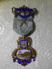 "Masonic Jewel. Founder. Bexhill Lodge No.4898. ""Fide et amore""."