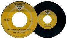 Philippines The CRAVENS The Ballad of John & Yoko 45rpm Record