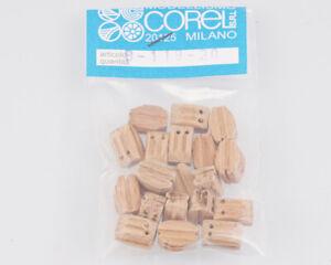 Corel B119 Crochet-Moufle 2 Yeux 10 MM (20 Pièces) Modélisme