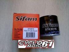 Filtre à huile Suzuki GSXR 600 1997 à 2016 (97K301K)