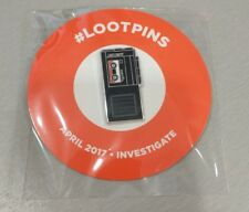 Lootcrate Exclusive Investigate Pin Lootpins Tape Recorder X-Files New