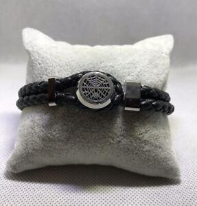 Montblanc Bracelet Urban Spirit TOKYO SPIDER Steel Leather