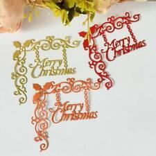New listing Merry Christmas 00006000  Metal Cutting Dies Stencil for Diy Scrapbook Photo Album CaTr