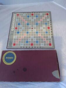 Vintage 1955 J W Spear & Sons Enfield SCRABBLE  Board Game