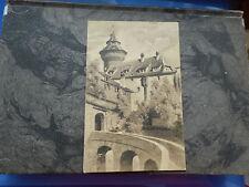 Lithographien vor 1914 aus Bayern mit dem Thema Burg & Schloss