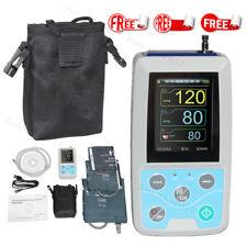 FDA Ambulatory Blood Pressure Monitor 24hours NIBP Holter ABPM50+3 Cuffs,USA