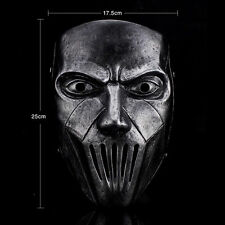 Slipknot Band Resin Mick Thomson Movie Masks Halloween Party Costume Prop Silver