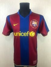 BARCELONA 2007/2008 HOME FOOTBALL SOCCER CAMISETA JERSEY ADULT NIKE SIZE L