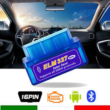 New Mini ELM327 V2.1 OBD2 II Bluetooth Diagnostic Car Auto Interface Scanner
