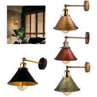 E27 Wandleuchte Wohnzimmer Schlafzimmer Licht Vintage Lampe Flur Stehlampe