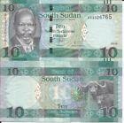 SOUTH SUDAN 10 POUNDS 2016 LOTE DE 5 BILLETES