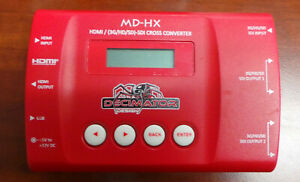 Decimator MD-HX HDMI and SDI Cross Converter with Scaling & Frame Rate