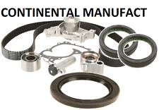 CONTINENTAL Engine Timing Belt Kit with Water Pump Camshaft seal Crank seal