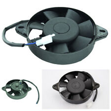Black Engine Oil Water Cooling Fan For Motorcycle ATV Quad Go Kart Dirt Pit Bike