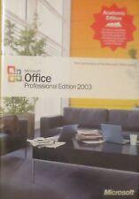 Microsoft Office Professional Edition 2003 Academic Edition