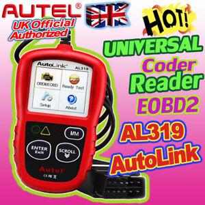 AUTEL Car Fault Code Reader Engine Diagnostic Scanner Reset Tool OBD2 CAN EOBD