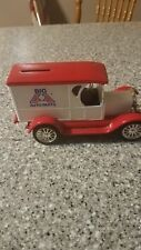 ERTL Big A Auto Parts 1923 Chevrolet Truck Bank 1:25 Red White Diecast Metal